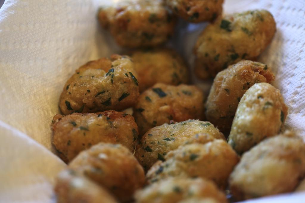 Codfish Fritters aka Bolinhos de Bacalhau